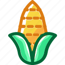 corn, eat, food, fruit, ingredients, restaurant, sweet icon