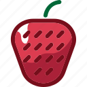 berry, eat, food, fruit, ingredients, restaurant, strawberry icon