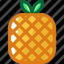eat, food, fruit, ingredients, pineapple, restaurant, sweet