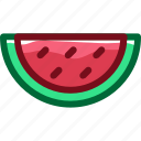 eat, food, fruit, ingredients, restaurant, sweet, watermelon icon