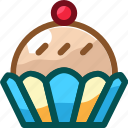 cake, cup, cupcake, eat, food, ingredients, restaurant icon