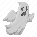 apparition, ghost, helloween, horror, spirit, spook icon