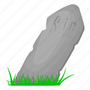 corpse, grave, helloween, rip, tomb, zombie icon
