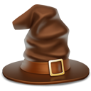 halloween, hat, witch hat icon