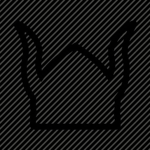 hat, viking icon