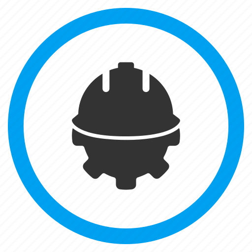 business, development, engineering, equipment, progress, solution, technology icon