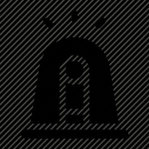 Alarm, alert, emergency, flashlight, siren, urgent, warning icon - Download on Iconfinder