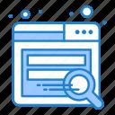 search, seo, website icon