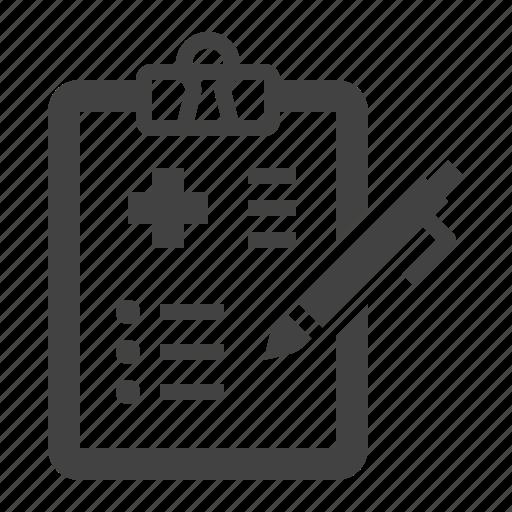 bill, checkup, insurance, medical, test icon
