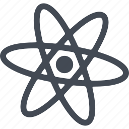 atoms, chemistry, experiment, laboratory, science icon