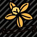 herb, vanilla icon