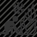 iceman, thermokinesis, freez, hero, ice, mutant, frozen icon