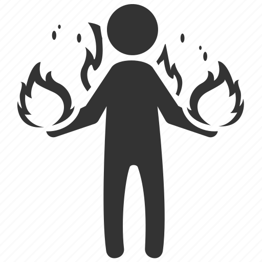fireman, firestarter, hero, mutant, pyrokinesis, thermokinesis icon