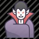 character, dracula, halloween, horror, scary, spooky, vampire icon