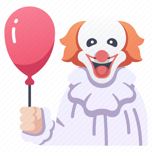 circus, clown, fear, halloween, horror, makeup, scary icon