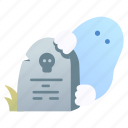 ghost, grave, graveyard, halloween, horror, scary, spooky icon