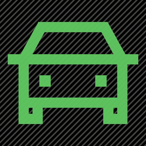 auto, automobile, dealer, expo, green, mobility, producer icon
