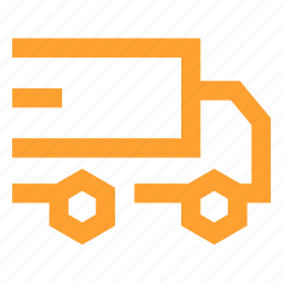 delivery, express, fast, logistic, quick, shipping, truck icon