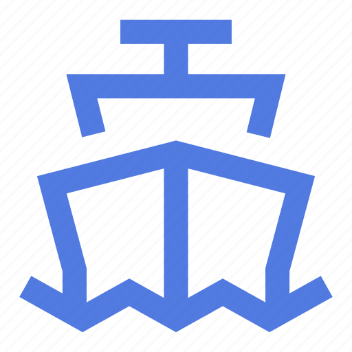 boat, cruise, cruising, naval, sea, ship, travel icon