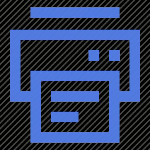 document, equipment, home, office, print, printer, printing icon