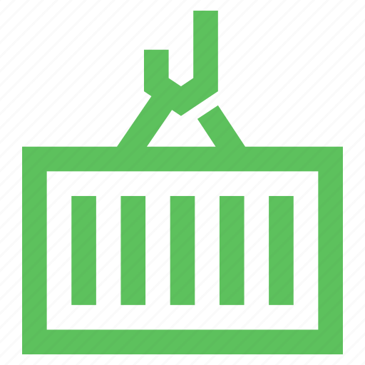 cargo, commerce, container, export, loading, shipment, shipping icon