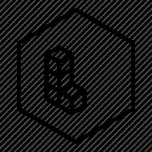 logo, tetris icon
