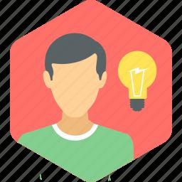 brain storming, creative, idea icon