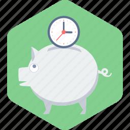 bank, money, piggy, piggy bank, saving, savings icon