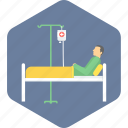 aid, care, emergency, icu, medical, patient, treatment icon