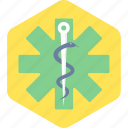 asclepius, logo, medical, healthcare, medical sign, medical logo