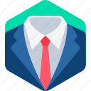 clothes, business, formal, clothing, office icon