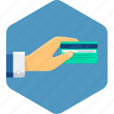business, card, money, pay, payment icon
