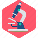 biology, lab, microscope, research, science icon