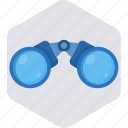 binocular, binoculars, explore, view, zoom icon