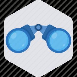 binocular, binoculars, explore, view, zoom icon