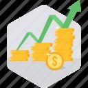 finance, growth, increase, presentation, sales, sales up