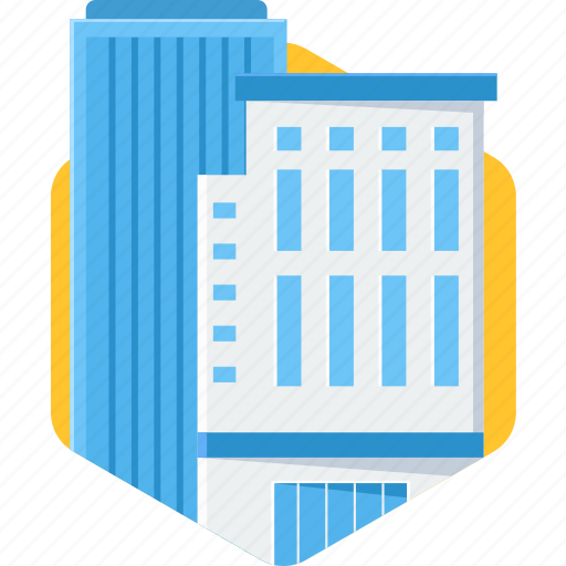 building, business, construction, estate, office icon