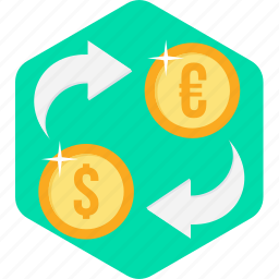 convert, currency, money, money convert, transfer icon