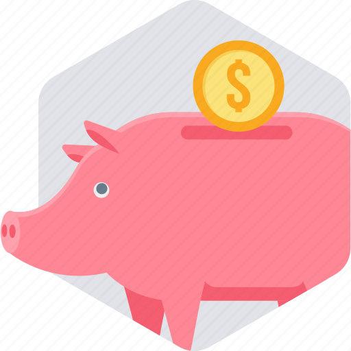 bank, banking, budget, business, cash, fund, piggy icon