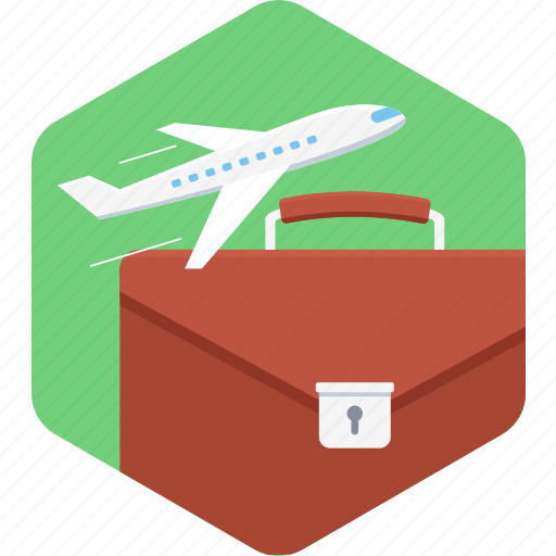 airplane, business, flight, travel icon