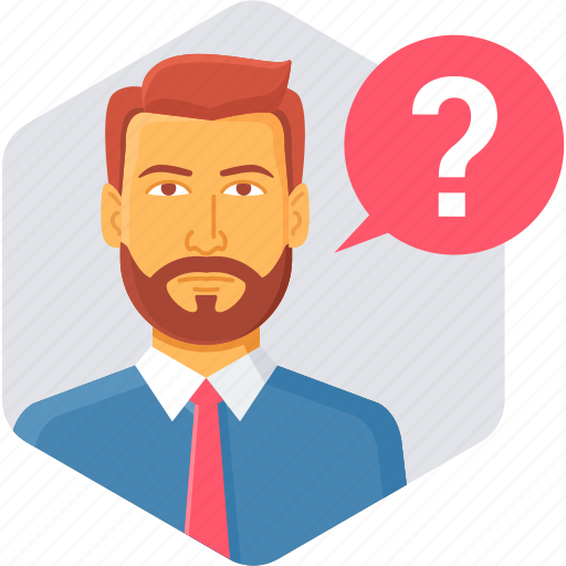 customer, faq, help, information, question, service, support icon