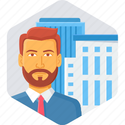bank, building, business, office, representative icon