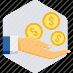 budget, cash, fund, pay, save, saving, savings icon