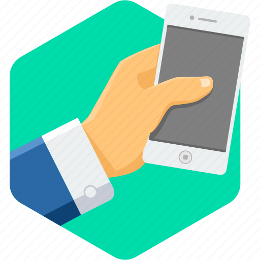 business, call, contact, gesture, mobile, phone, smartphone icon