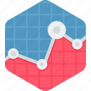 analysis, analytics, presentation, report, statistics icon