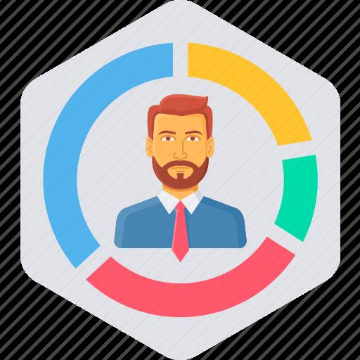 analysis, analytics, business, employee, report icon