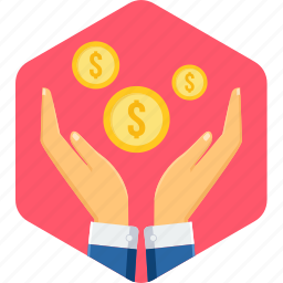 bank, cash, coin, finance, money, payment, save money icon