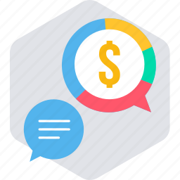 business, dollar, money, salary, salary message icon