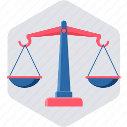 balance, justice, law, scale, scales, weighing, weighing scale icon
