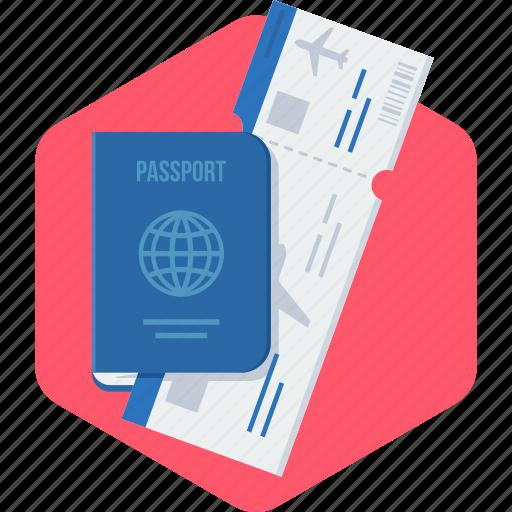 card, id, identity, passport, visa icon